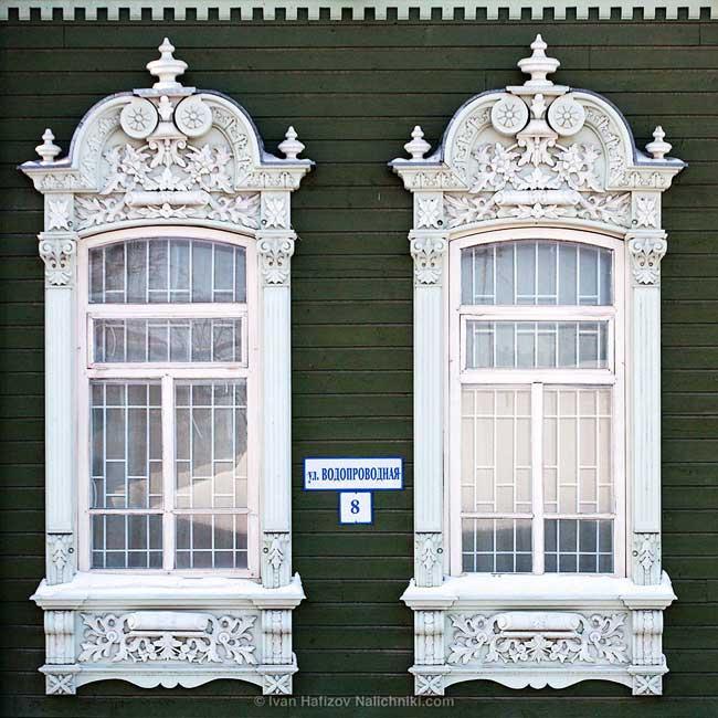 , En Russie les Encadrements des Fenêtres ont des Airs de Dentelle