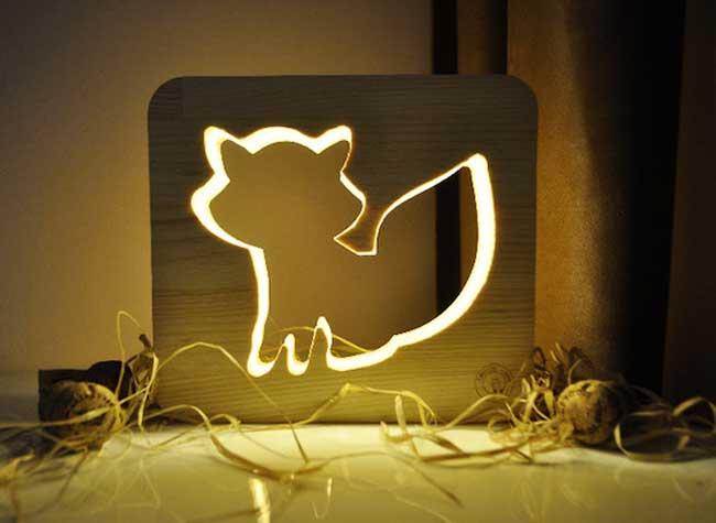 , Ces Lampes Animaux vont Veiller la Nuit sur les Petits