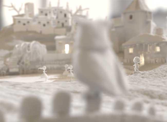 , Le Monde Parfait est Féerique comme ce Film d'Animation