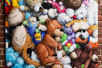 brent-estabrook-peinture-realistes-peluches-art-7