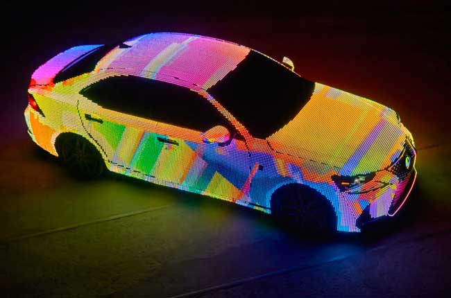 , Lexus Habille sa Berline LIT IS de 41999 LED Multicolores (video)