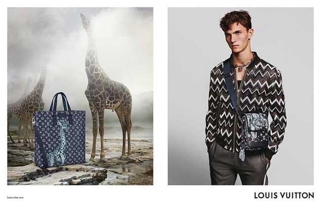 , Direction l'Afrique pour Louis Vuitton Homme Été 2017