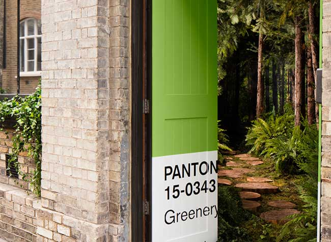 airbnb pantone greenery appartement londres 0 - Greenery, la Couleur de l'Année a son Appartement AirBnB