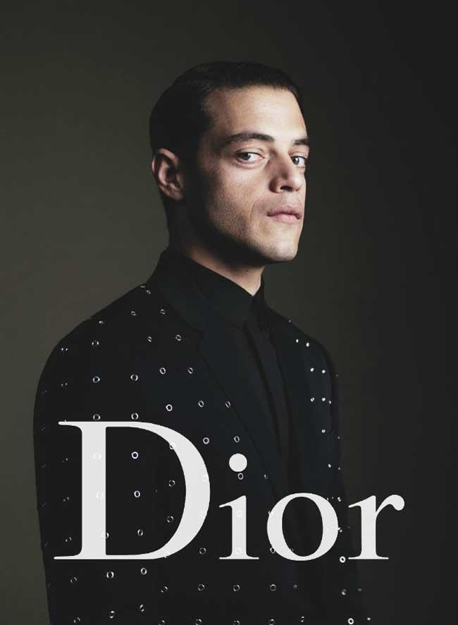 , Dior Homme Invite Rami Malek dans sa Campagne Ete 2017