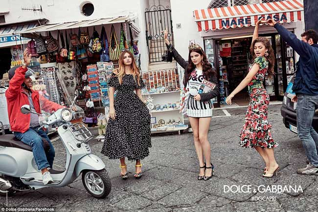 , Les Millennials chez Dolce Gabbana Femme Ete 2017