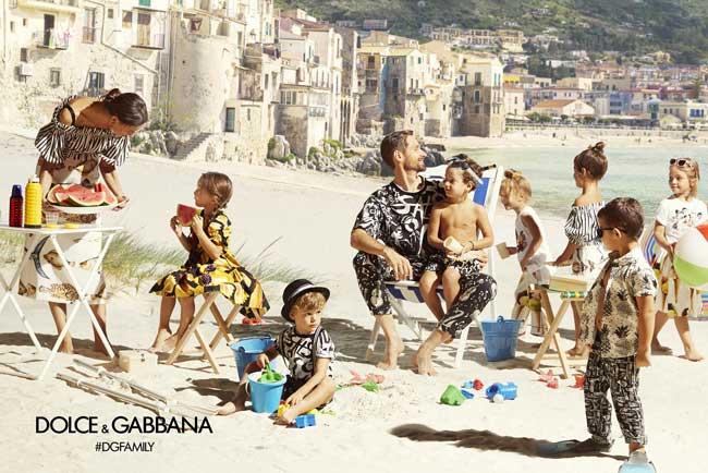 , Chez Dolce Gabbana Eté 2017 Capri c'est pour les Petits