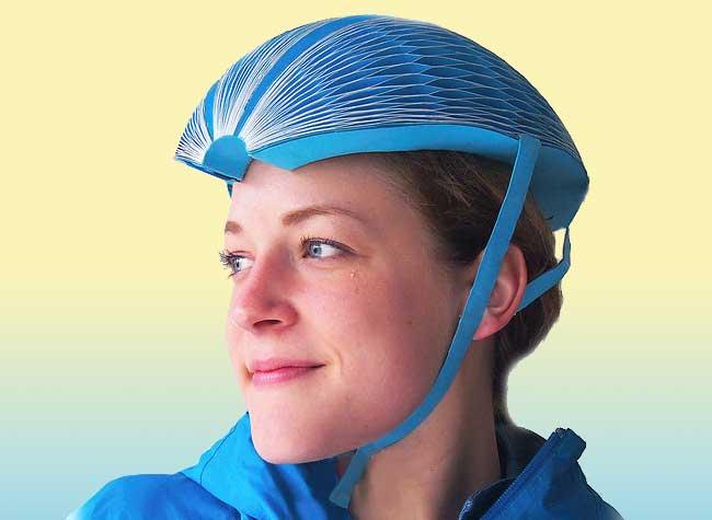 , EcoHelmet, le Casque à Vélo en Carton qui Cartonne (video)
