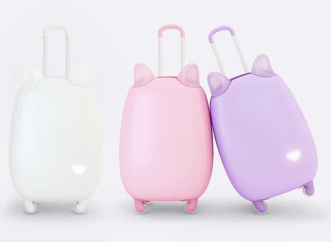 fravel, Fravel, la Valise Girly à Tete de Chat qui Cartonne sur Kickstarter