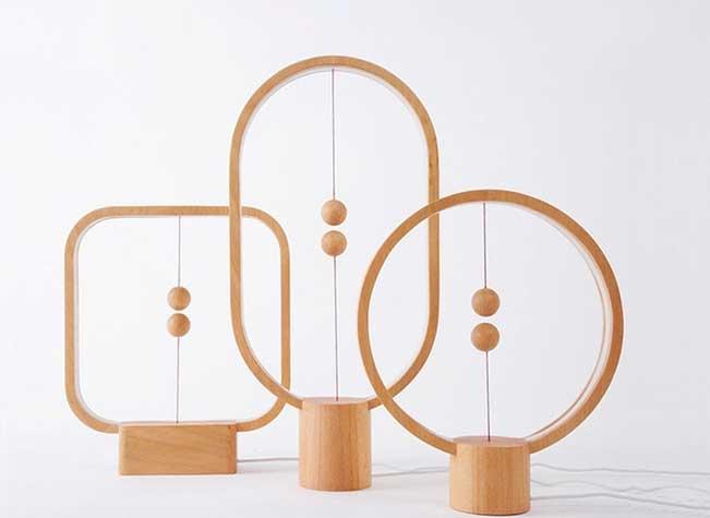 heng balance lamp design zanwen li 1 - L'Interrupteur de cette Lampe va vous Faire Perdre la Boule (video)