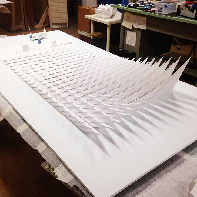 Berühmt Hypnotiques Sculptures 3D Cinétiques en Papier (video) - MaxiTendance XK76