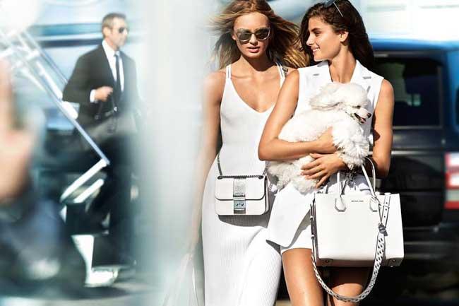 , Style Paparazzi pour la Campagne Michael Kors Ete 2017