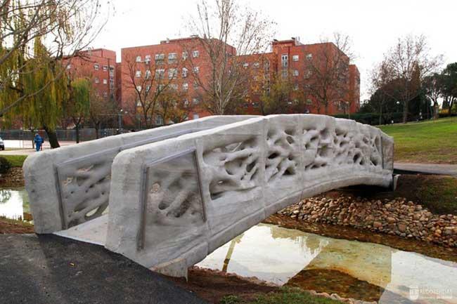 pont pietons impression 3d espagne iaac 1 - Le Premier Pont au Monde Imprimé en 3D est en Espagne (video)