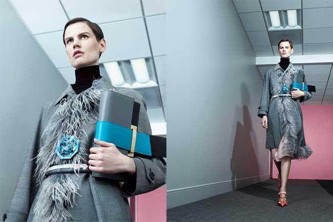 , Cet Eté 2017 Prada Revisite la Campagne de Mode