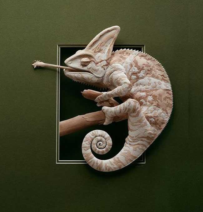 , L'Art de Sculpter des Animaux 3D en Papier plus Vrais que Nature