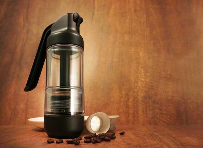 , Simpresso, la Machine à Cafe Expresso de Voyage Réinventée