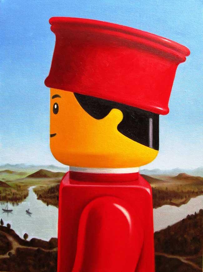 , Il Revisite les Toiles de Maîtres avec les Personnages de LEGO