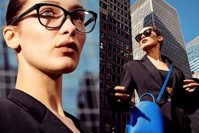 , Bella Hadid passe l'Ete 2017 à New York pour DKNY