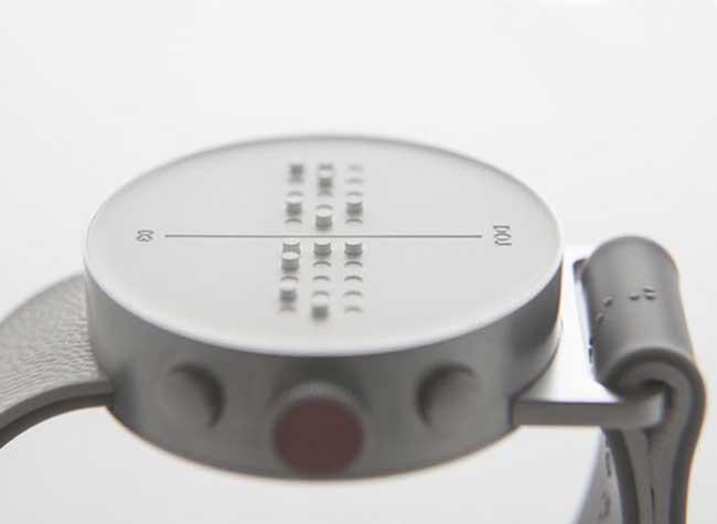 , Dot, la Montre Connectée en Braille pour Malvoyants (video)