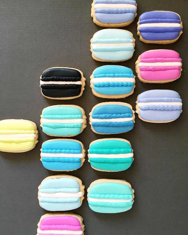 holly fox biscuits, Ses Artistiques Biscuits Pop Art vont vous Mettre l'Eau à la Bouche