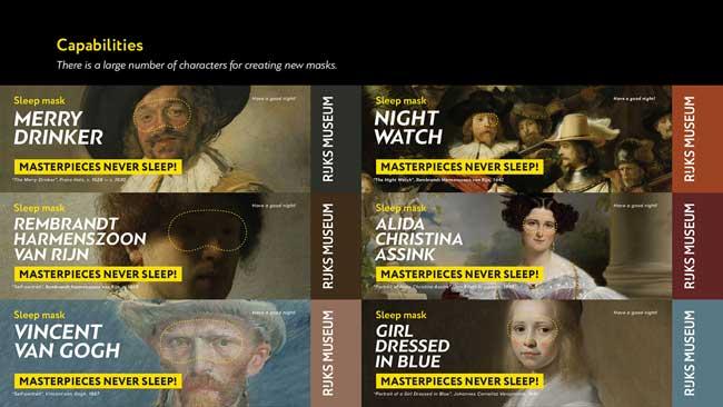 lesha limonov masque nuit sommeil portraits art 6 - Masques aux Regards d'Oeuvres d'Art pour Dormir les Yeux Ouverts (video)