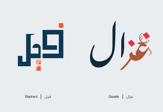calligraphie arabe, Quand la Calligraphie Arabe Illustre Magnifiquement les Mots