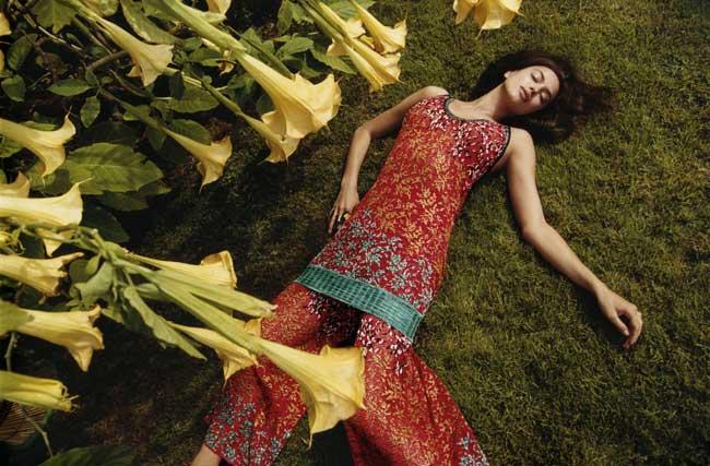 , Missoni nous Offre une Campagne en Fleurs et en Couleurs