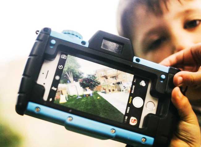 , PixlPlay Transforme l'iPhone en Appareil Photo pour Enfant (video)
