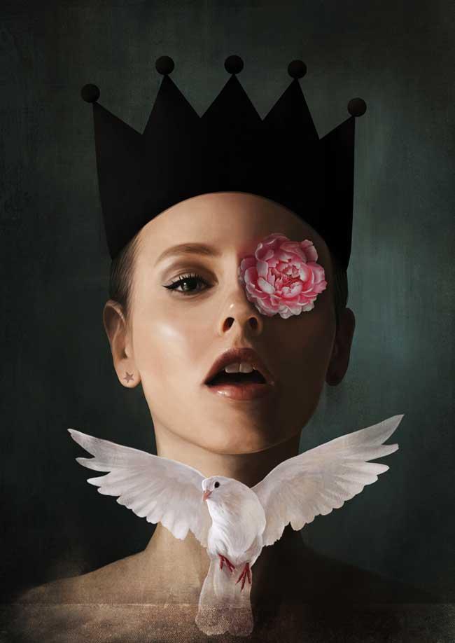 , Elle Peint de Mélancoliques Portraits de Femmes