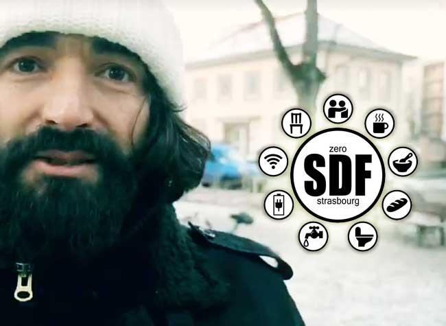 zero sdf strasbourg autocollant solidarite muammar yilmaz 1 - O SDF à Strasbourg,une Initiative Simple pour un Monde Solidaire !