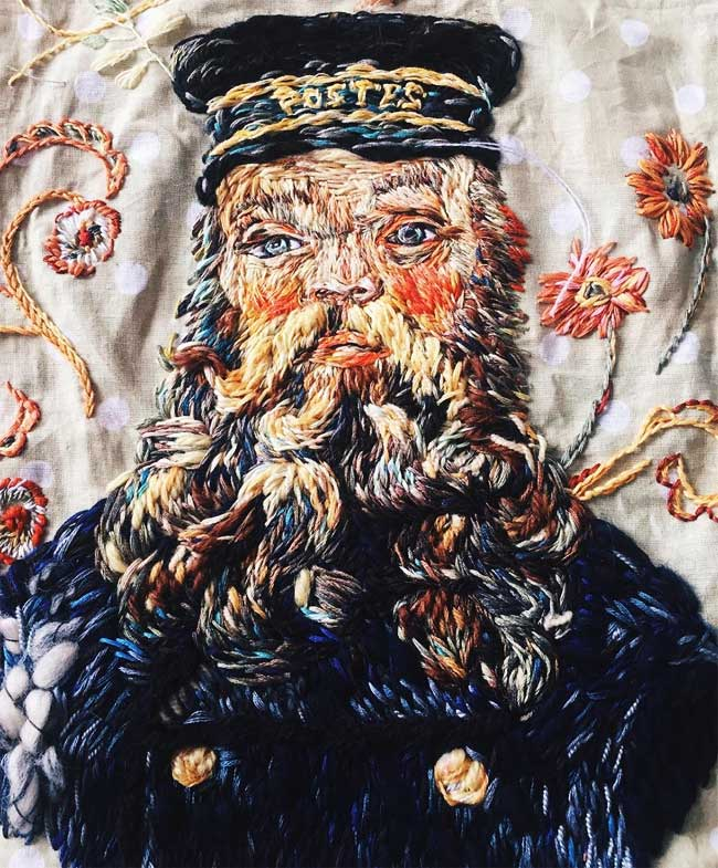 Broderie Art Peinture Lisa Smirnova