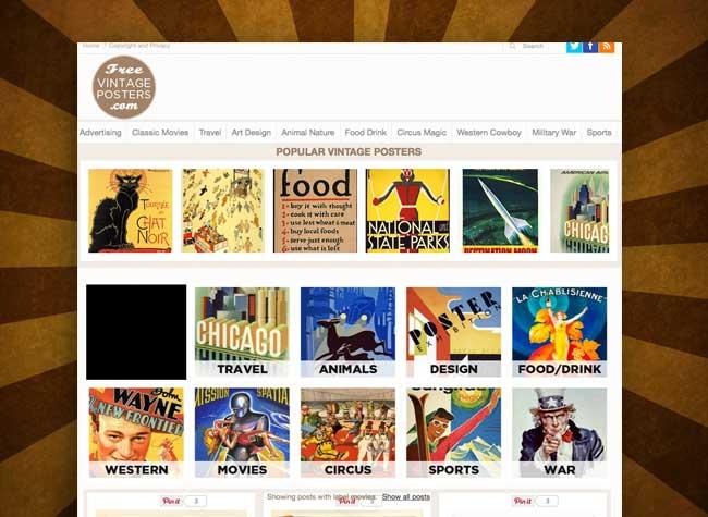 Affiches Publicitaires, Affiches Publicitaires des Années 60 à Télécharger et Imprimer (gratuit)