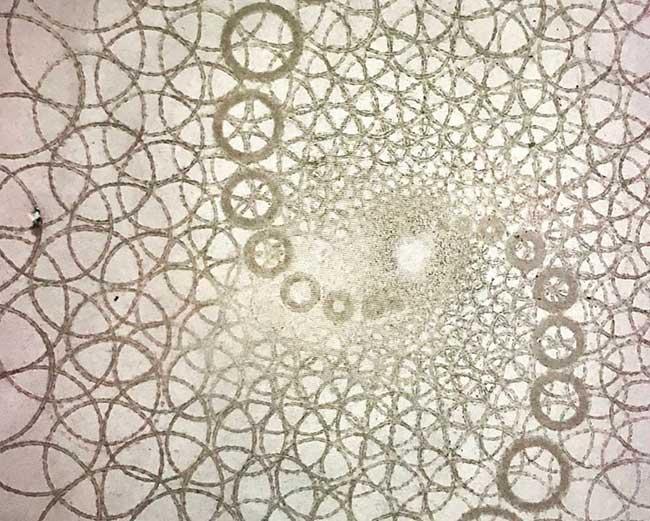 jim denevan dessins sable 4 - Monumentaux Dessins Géométriques sur le Sable en Bord de Mer (video)