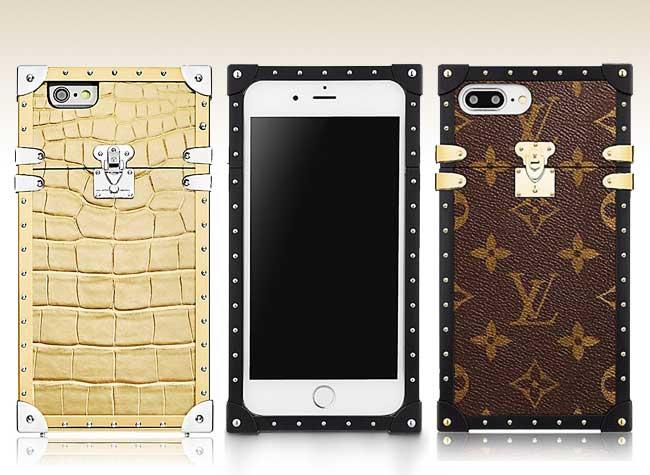, Luxueuses Petites Malles Louis Vuitton en Protections pour iPhone 7