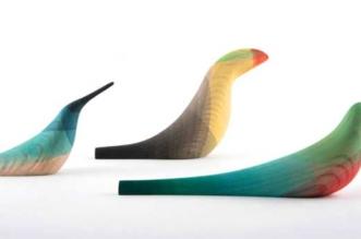 moises hernandez oiseaux bois peinture aquarelle