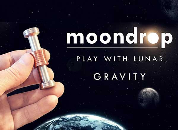 Moondrop, Effet de Micro Gravité Lunaire avec ce Gadget Anti Stress (video)