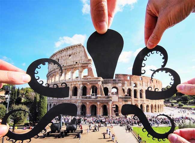 Silhouettes Paperboyo, Les Silhouettes en Papier de Paperboyo Envahissent le Monde
