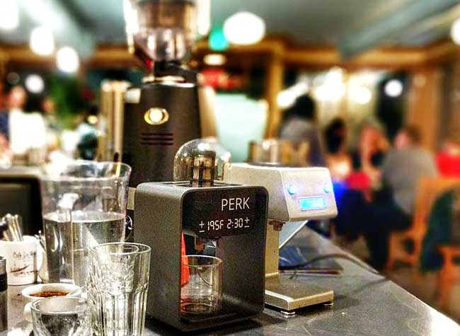 perk brew machine cafe hipsters 3d
