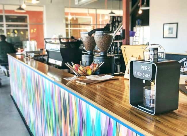perk brew machine cafe hipsters 3d 3 - Imprimée en 3D, PERK est la Machine Expresso Parfaite (video)