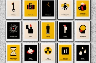 pictogram music posters viktor hertz