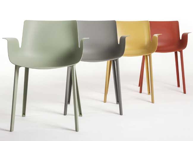 piuma chaise piero lissoni 1 - Chaise Piuma en Fibre de Carbone aussi Légère qu'une Plume