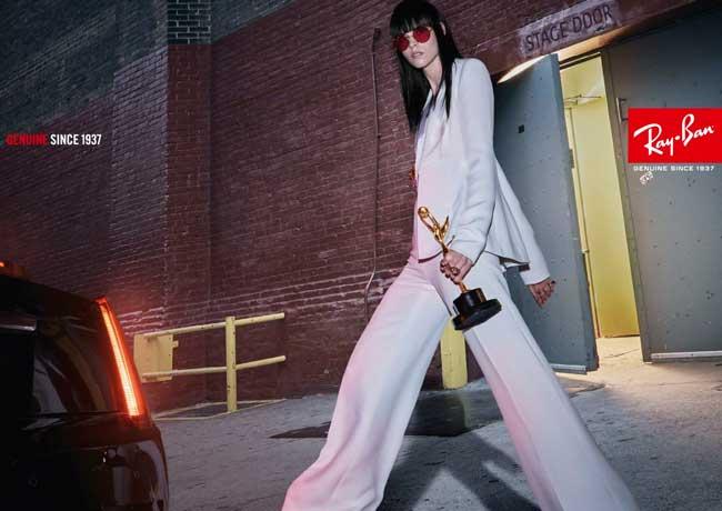 ray ban lunettes soleil solaire ete 2017 campagne 2 - Les Lunettes Ray Ban Font leur Cinéma pour l'Ete 2017