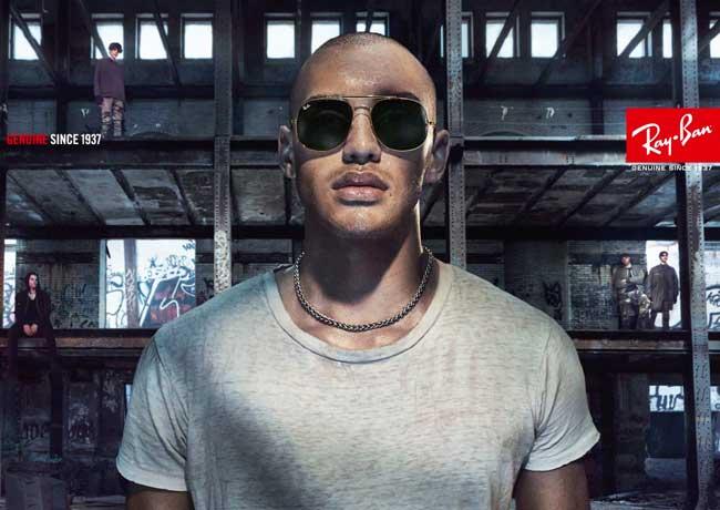 ray ban lunettes soleil solaire ete 2017 campagne 3 - Les Lunettes Ray Ban Font leur Cinéma pour l'Ete 2017