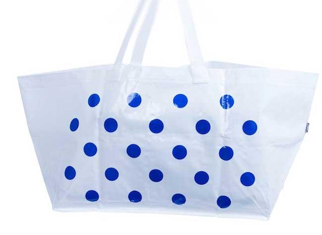 sac ikea colette, L'Iconique Sac Bleu Ikea Revisité par Colette