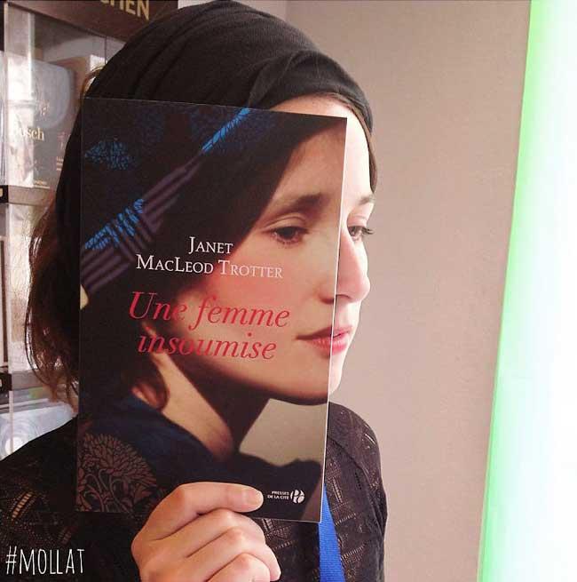 sleeveface couverture livres illusion optique portraits 1 - Quand les Employés d'une Librairie font du BookFace
