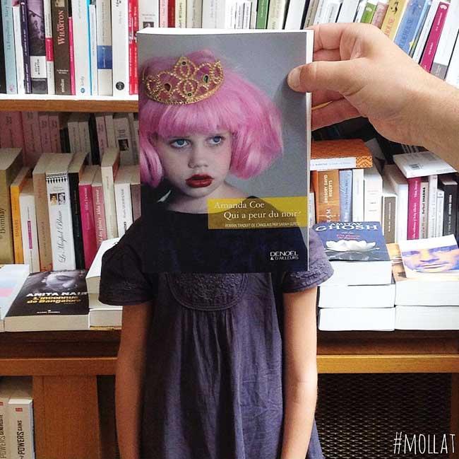 sleeveface couverture livres illusion optique portraits 10 - Quand les Employés d'une Librairie font du BookFace