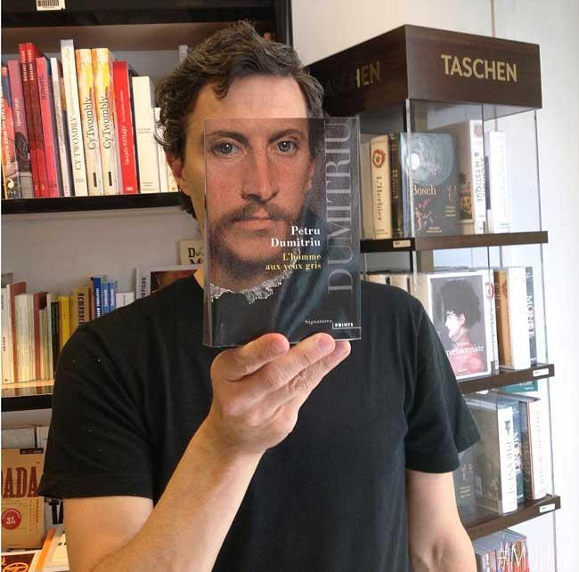 sleeveface couverture livres illusion optique portraits 7 - Quand les Employés d'une Librairie font du BookFace