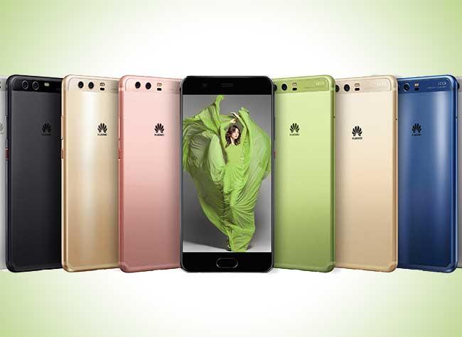 smartphone huawei p10 couleurs pantone