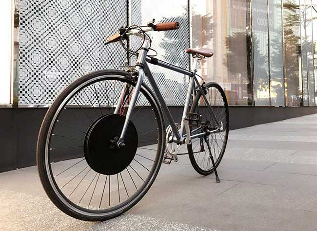 urbanx velo, UrbanX, Transforme votre Vélo en Vélo Électrique (video)
