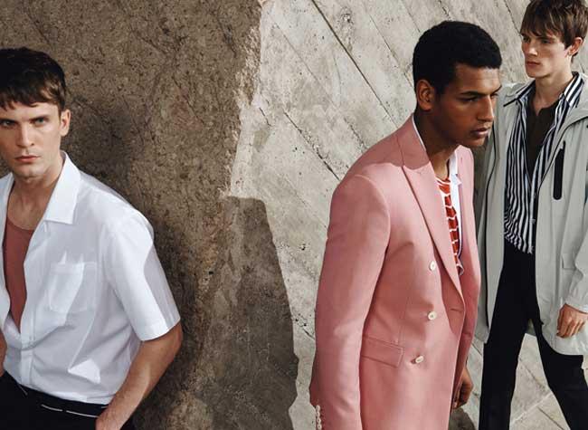 Rayures, Invasion de Rayures chez Zara Homme Été 2017