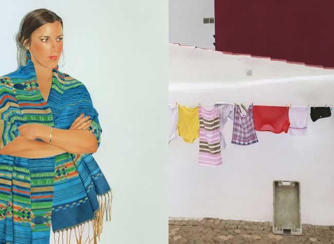 Anna Roberts, Escapade au Portugal en Aquarelles sur Papier Chiffon